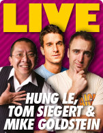 Hung Le, Tom Siegert & Mike Goldstein (USA)